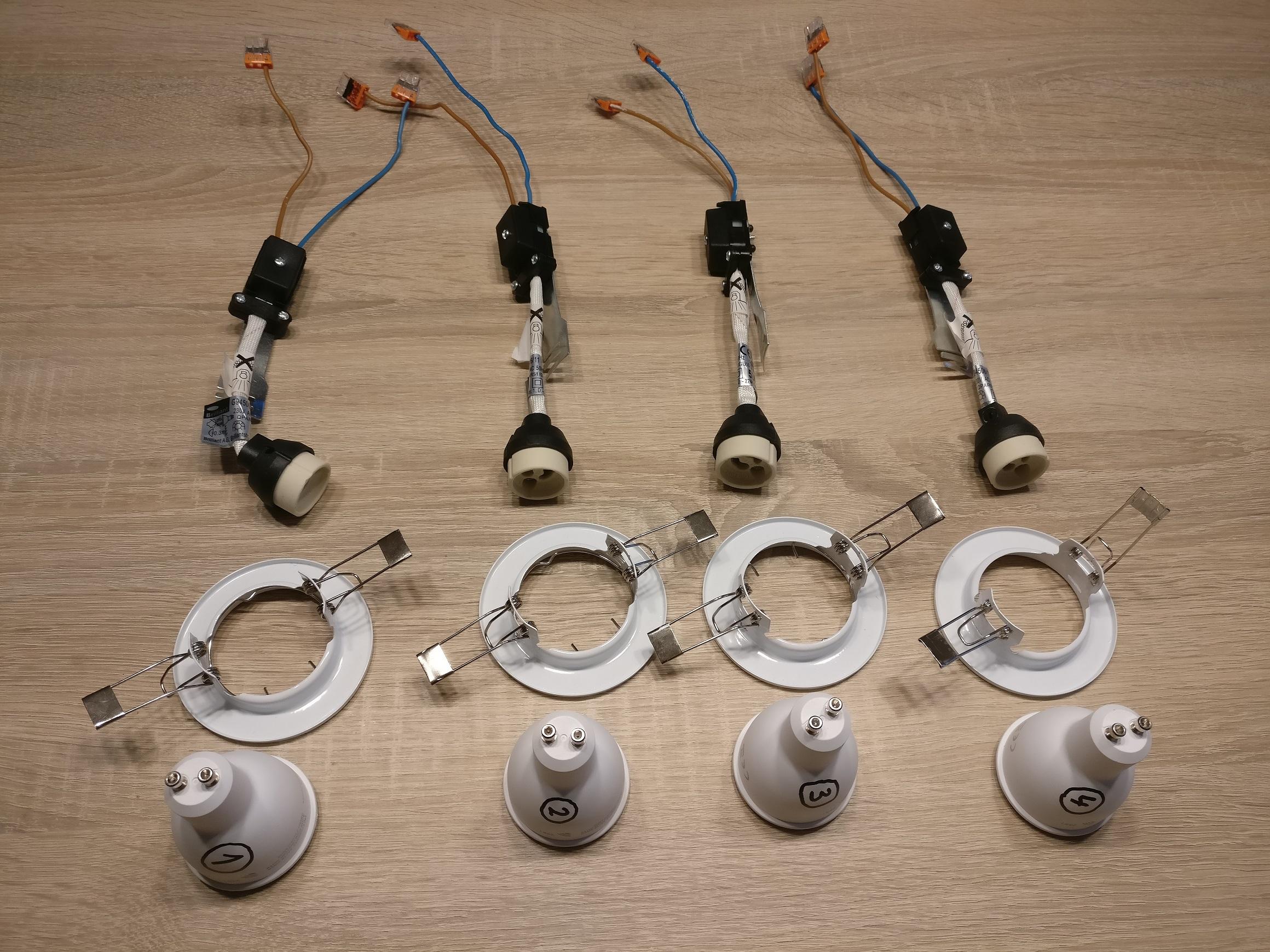 Einen smart LED Einbaustrahler selber bauen   smart leuchten.de